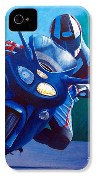 Triumph Sprint - Franklin Canyon  IPhone 4 Case by Brian  Commerford