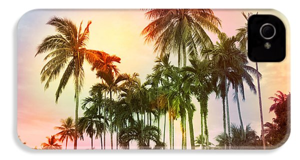 Tropical 11 IPhone 4 Case by Mark Ashkenazi