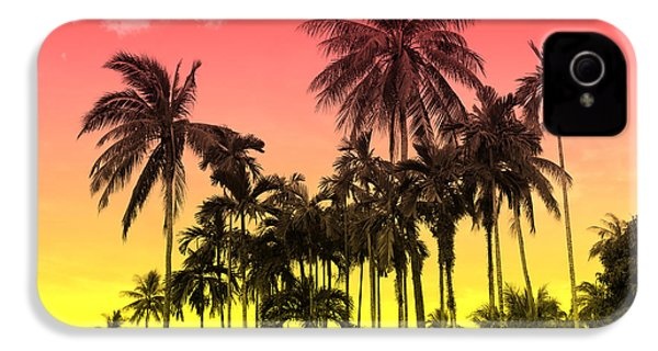 Tropical 9 IPhone 4 Case by Mark Ashkenazi