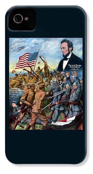 True Sons Of Freedom -- Ww1 Propaganda IPhone 4 Case