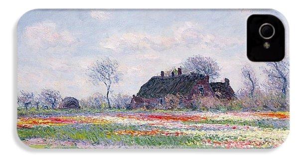Tulip Fields At Sassenheim IPhone 4 Case