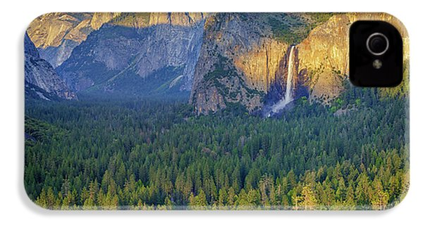 Tunnel View At Sunset IPhone 4 / 4s Case by Rick Berk