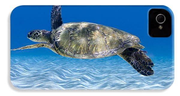 Turtle Flight -  Part 2 Of 3  IPhone 4 Case by Sean Davey