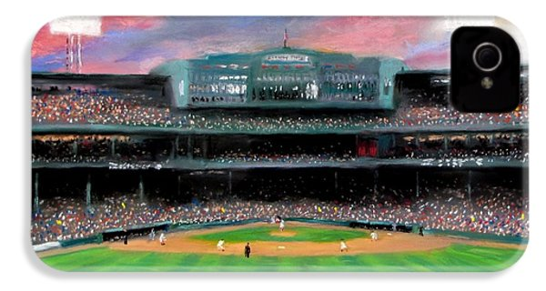 Twilight At Fenway Park IPhone 4 Case by Jack Skinner