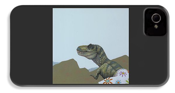 Tyranosaurus Rex IPhone 4 Case by Jasper Oostland