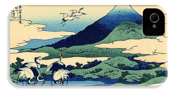 Umegawa In Sagami Province, One Of Thirty Six Views Of Mount Fuji IPhone 4 Case by Hokusai