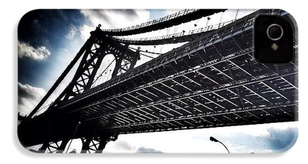 Under The Bridge IPhone 4 Case by Christopher Leon