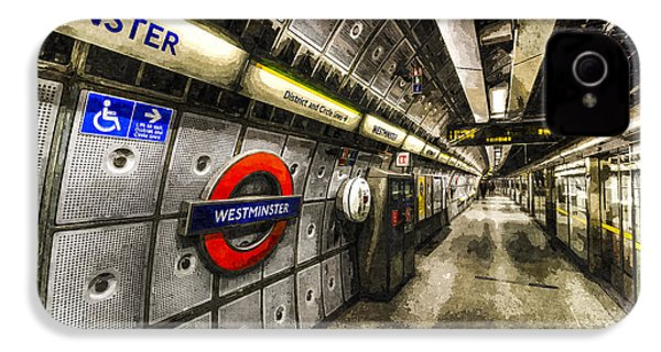 Underground London Art IPhone 4 Case by David Pyatt