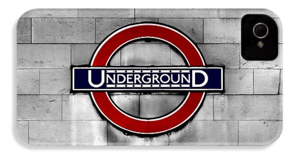 Underground IPhone 4 / 4s Case by Mark Rogan