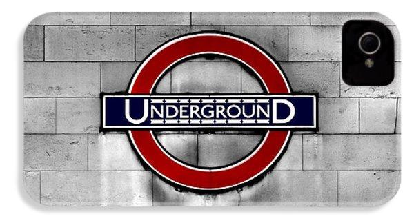 Underground IPhone 4 Case by Mark Rogan