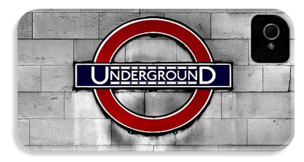 Underground IPhone 4 Case by Mark Rogan