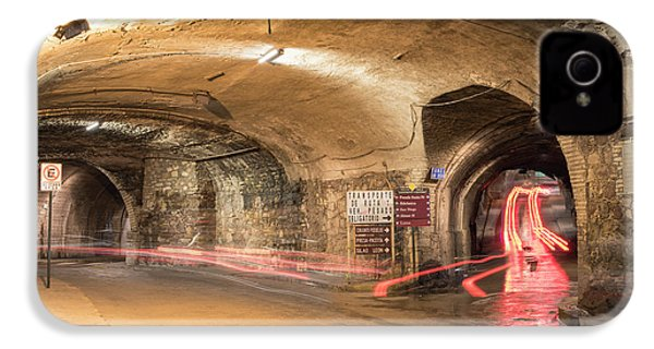 Underground Tunnels In Guanajuato, Mexico IPhone 4 / 4s Case by Juli Scalzi
