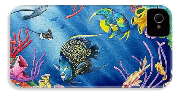 Undersea Garden IPhone 4 / 4s Case by Gale Cochran-Smith