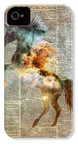 Unicorn Carina Nebula IPhone 4 Case