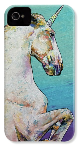Unicorn IPhone 4 / 4s Case by Michael Creese