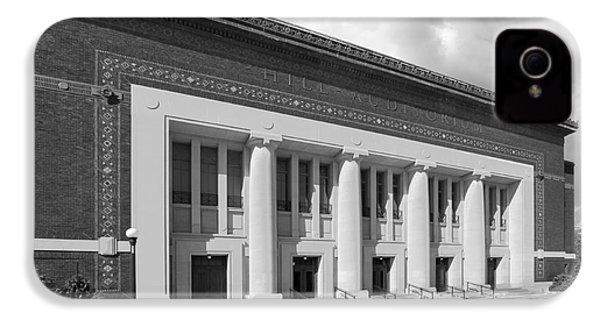 University Of Michigan Hill Auditorium IPhone 4 Case by University Icons