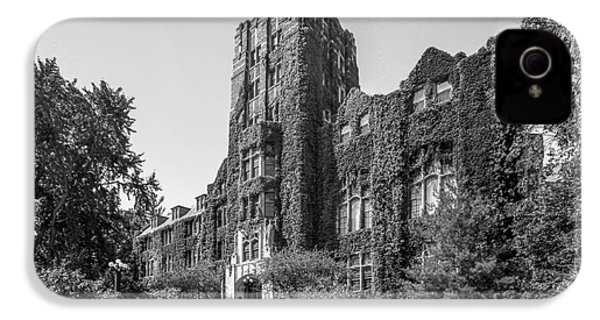 University Of Michigan Michigan Union IPhone 4 / 4s Case by University Icons