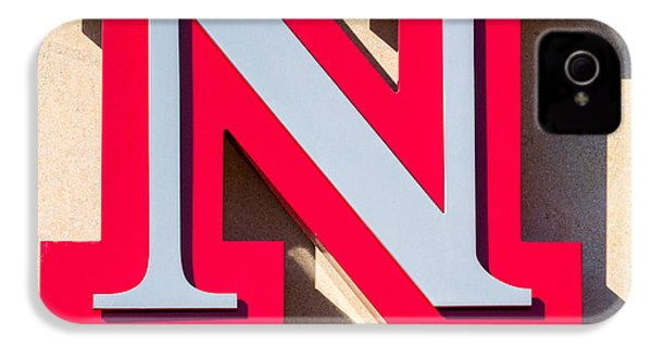 UNL IPhone 4 Case by Jerry Fornarotto