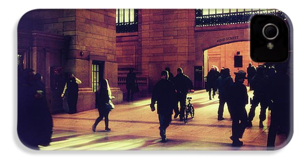 IPhone 4 Case featuring the photograph Grand Central Rush by Jessica Jenney
