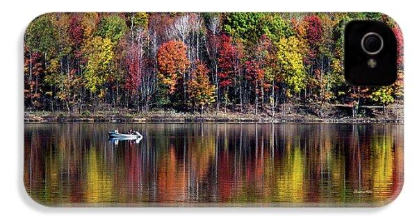 Vanishing Autumn Reflection Landscape IPhone 4 Case