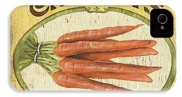 Veggie Seed Pack 4 IPhone 4 / 4s Case by Debbie DeWitt