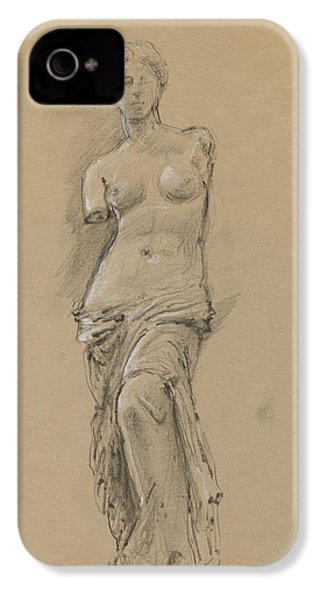 Venus De Milo IPhone 4 Case by Juan Bosco
