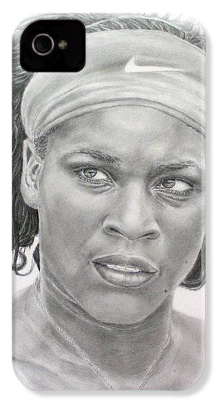 Venus Williams IPhone 4 Case by Blackwater Studio