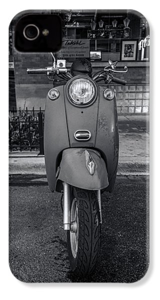 IPhone 4 Case featuring the photograph Vespa by Sebastian Musial