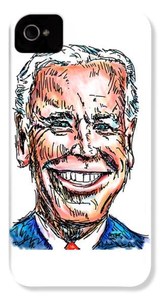Vice President Joe Biden IPhone 4 Case by Robert Yaeger