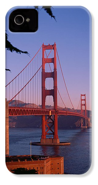 View Of The Golden Gate Bridge IPhone 4 / 4s Case by American School