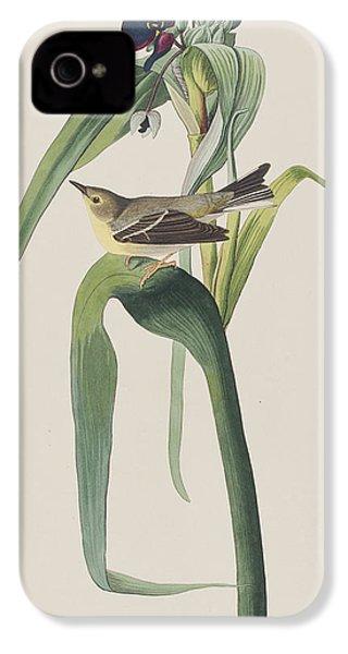 Vigor's Warbler IPhone 4 Case by John James Audubon