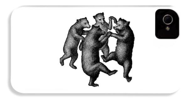 Vintage Dancing Bears IPhone 4 Case
