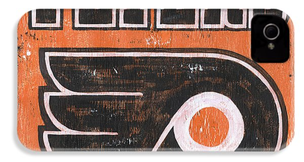 Vintage Flyers Sign IPhone 4 Case by Debbie DeWitt