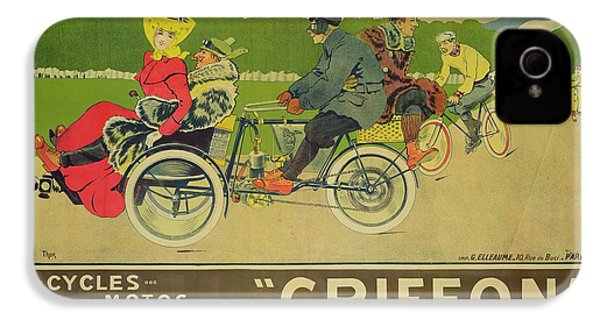 Vintage Poster Bicycle Advertisement IPhone 4 Case by Walter Thor