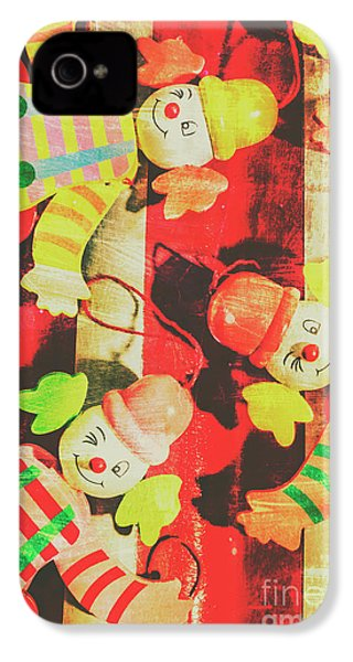 IPhone 4 Case featuring the photograph Vintage Pull String Puppets by Jorgo Photography - Wall Art Gallery
