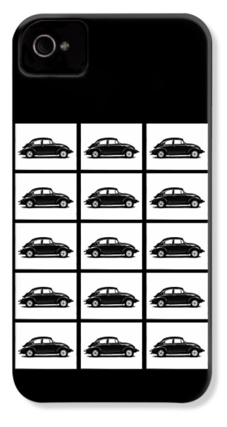 Vw Theory Of Evolution IPhone 4 / 4s Case by Mark Rogan