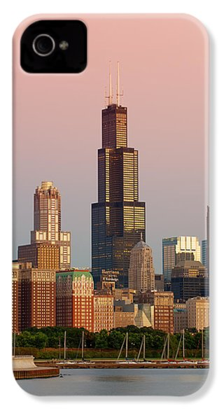 Wake Up Chicago IPhone 4 / 4s Case by Sebastian Musial