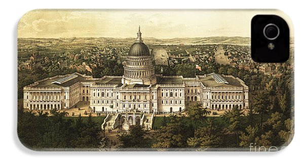 Washington City 1857 IPhone 4 Case