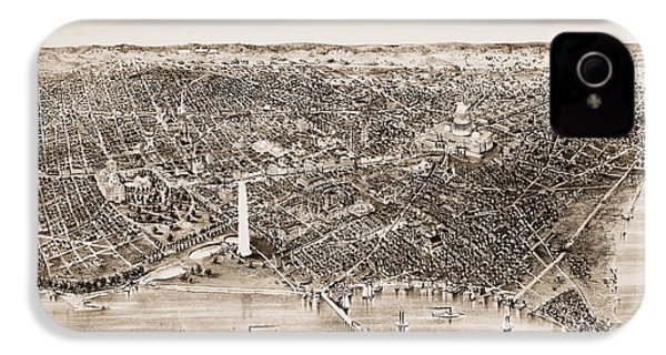 Washington D.c., 1892 IPhone 4 / 4s Case by Granger