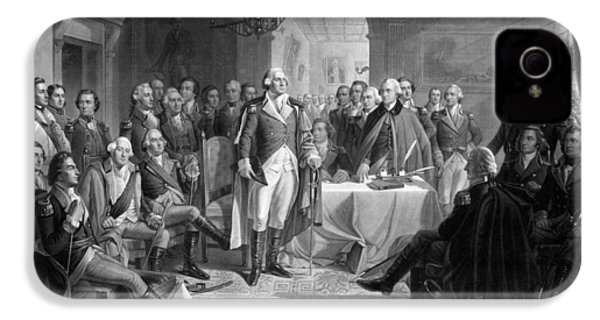 Washington Meeting His Generals IPhone 4 Case by War Is Hell Store