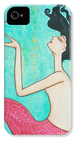 Water Nymph IPhone 4 / 4s Case by Natalie Briney