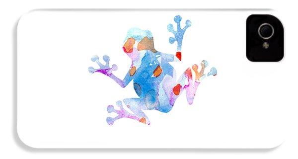 Watercolor Frog IPhone 4 Case by Nursery Art
