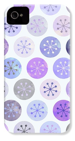 Watercolor Lovely Pattern II IPhone 4 / 4s Case by Amir Faysal