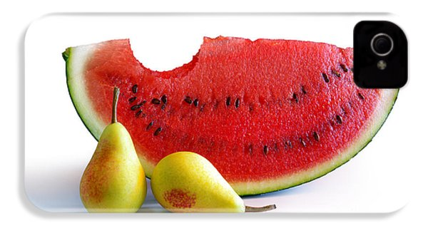 Watermelon And Pears IPhone 4 Case by Carlos Caetano