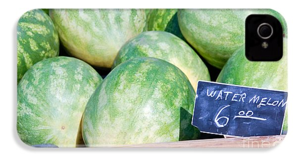 Watermelons With A Price Sign IPhone 4 Case by Paul Velgos