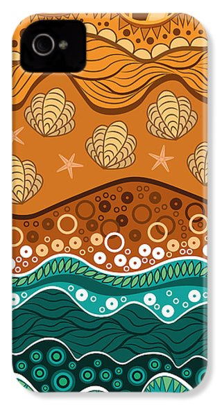 Waves IPhone 4 Case