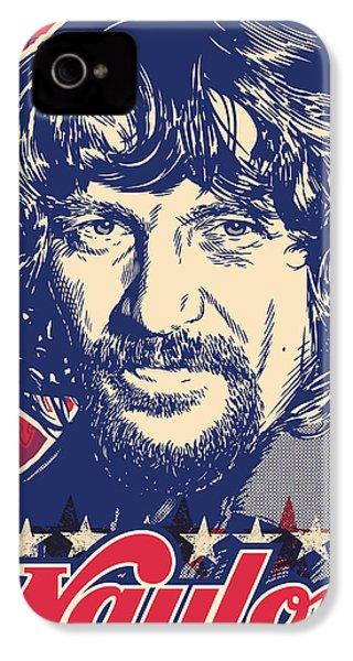 Waylon Jennings Pop Art IPhone 4 Case
