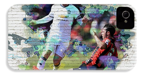 Wayne Rooney Street Art IPhone 4 / 4s Case by Don Kuing