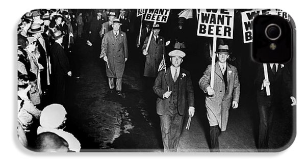 We Want Beer IPhone 4 Case