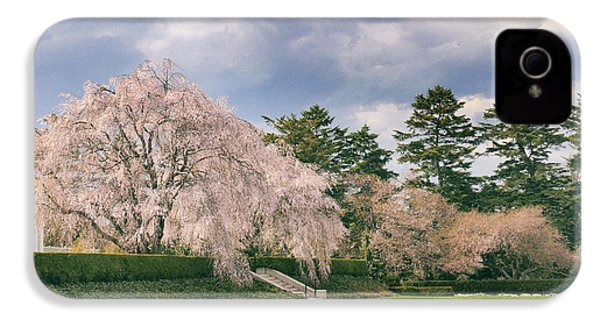 IPhone 4 Case featuring the photograph Weeping Cherry In Bloom by Jessica Jenney